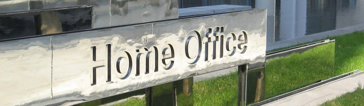 The Home Office's sign